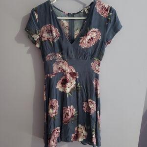 Floral short sleeve dress